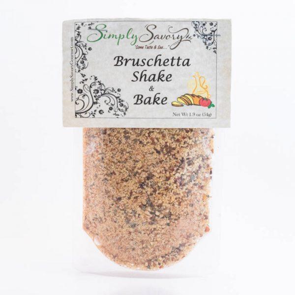 Bruschetta Shake and Bake Seasoning packet