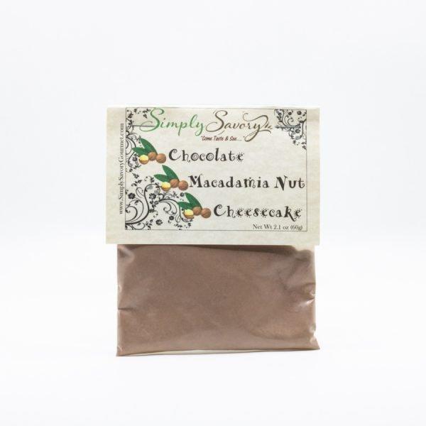 Chocolate Macadamia Nut Cheesecake Dessert Mix Packet