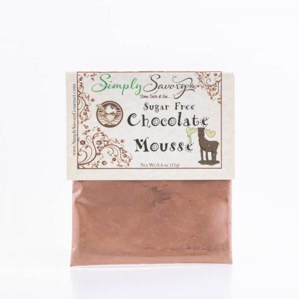 Sugar Free Chocolate Mousse Dessert Mix Packet