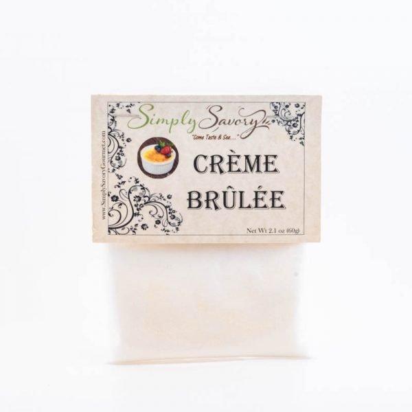 Creme Brulee Dessert Mix Packet