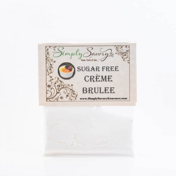 Sugar Free Creme Brulee Dessert Mix Packet
