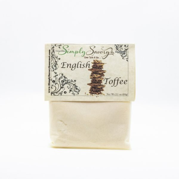 English Toffee Dessert Mix Packet