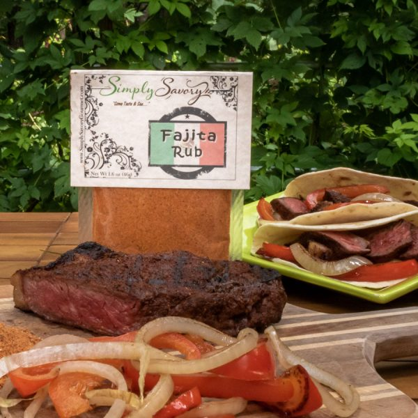 Fajita Rub Seasoning Prepared on Steak