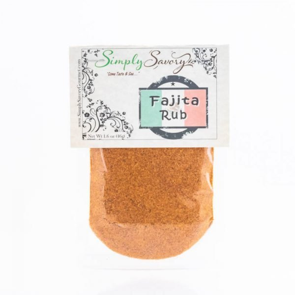 Fajita Rub Seasoning Packet