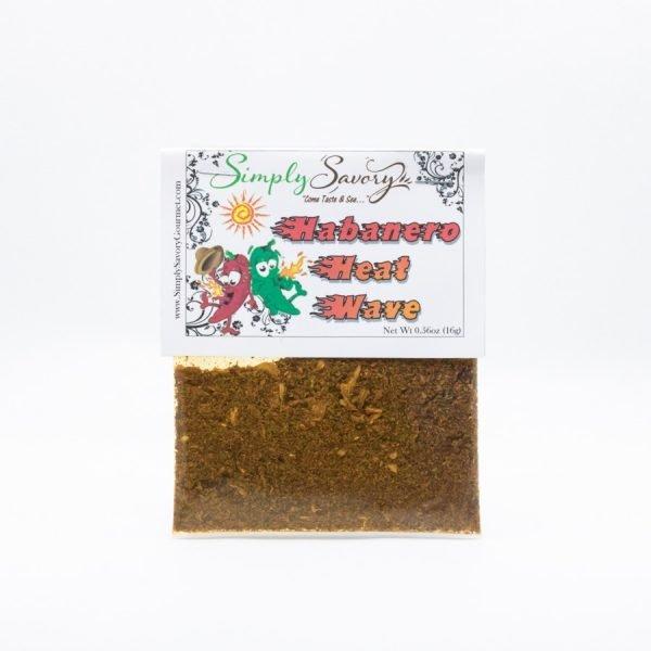 Habanero Heat Wave Dip Mix Packet