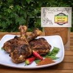Jamaican Jerk Rub Prepared on Chicken