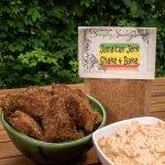Jamaican Jerk Shake & Bake Seasoning Prepared on Chicken Nuggets