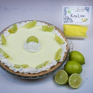Key Lime Pie Dessert Mix prepared as a pie