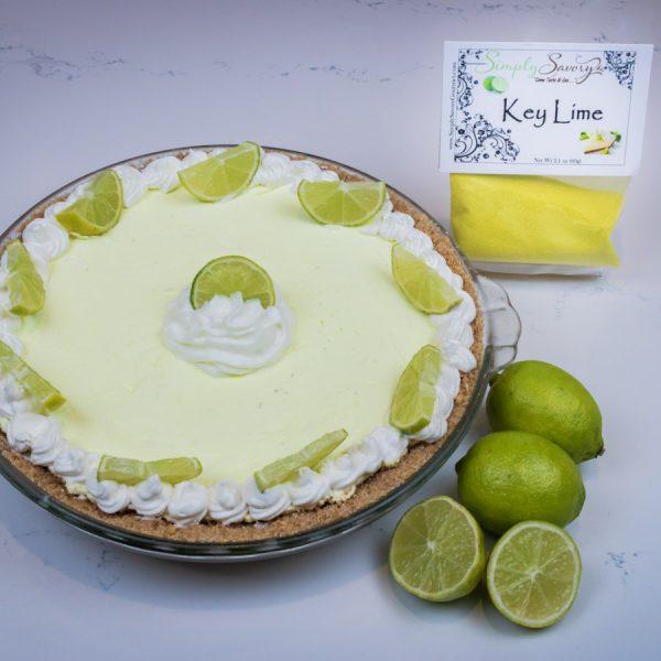 Key Lime Pie Dessert Mix prepared as a pie