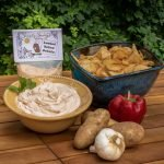 Loaded Baked Potato Dip Prepared with Potato Chips