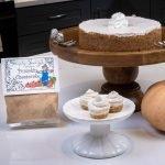 Pumpkin Cheese Cake Dessert Mix prepared