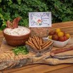 Smokehouse Bacon & Tomato Prepared Dip with Pretzels