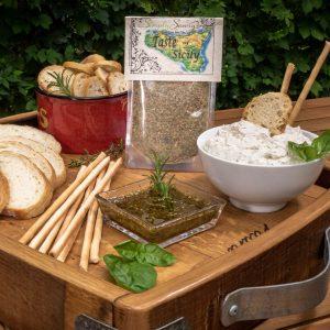 Taste of Sicily Prepared Dip and Oil