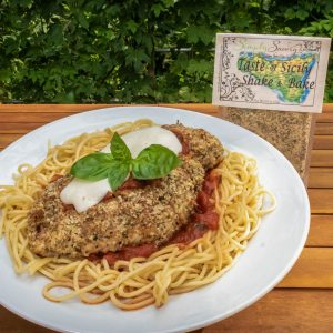 Taste of Sicily Shake & Bake Prepared on Chicken Parmesan