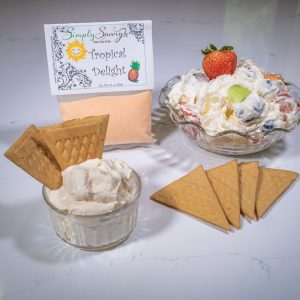 Tropical Delight Prepared Dessert Mix