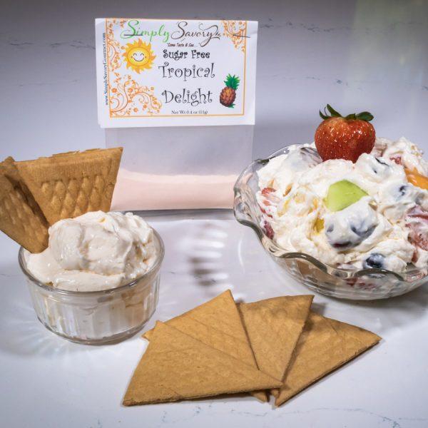 Sugar Free Tropical Delight Prepared Dessert Mix