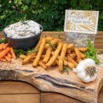 Tuscan Garlic Prepared Dip with French Fries