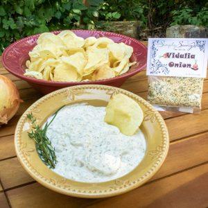 Vidalia Onion Prepared Dip with Chips