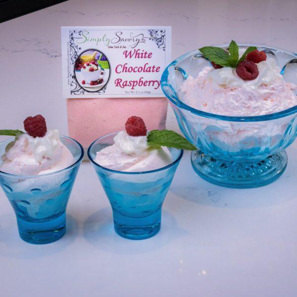 White Chocolate Raspberry Prepared Dip