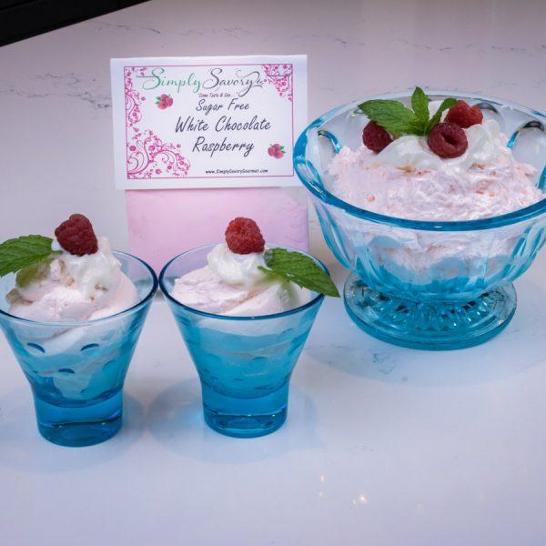 Sugar Free White Chocolate Raspberry Prepared Dessert Dip