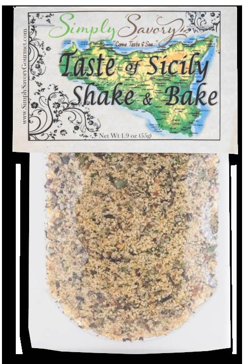 Taste of Sicily Shake & Bake