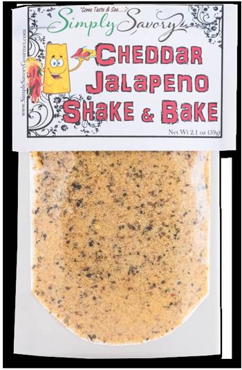 Cheddar Jalapeno Shake and Bake