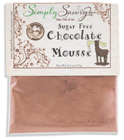 Sugar Free Chocolate Mousse Dessert Dip Mix
