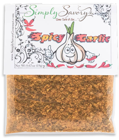 Spicy Garlic Gourmet Dip Mix