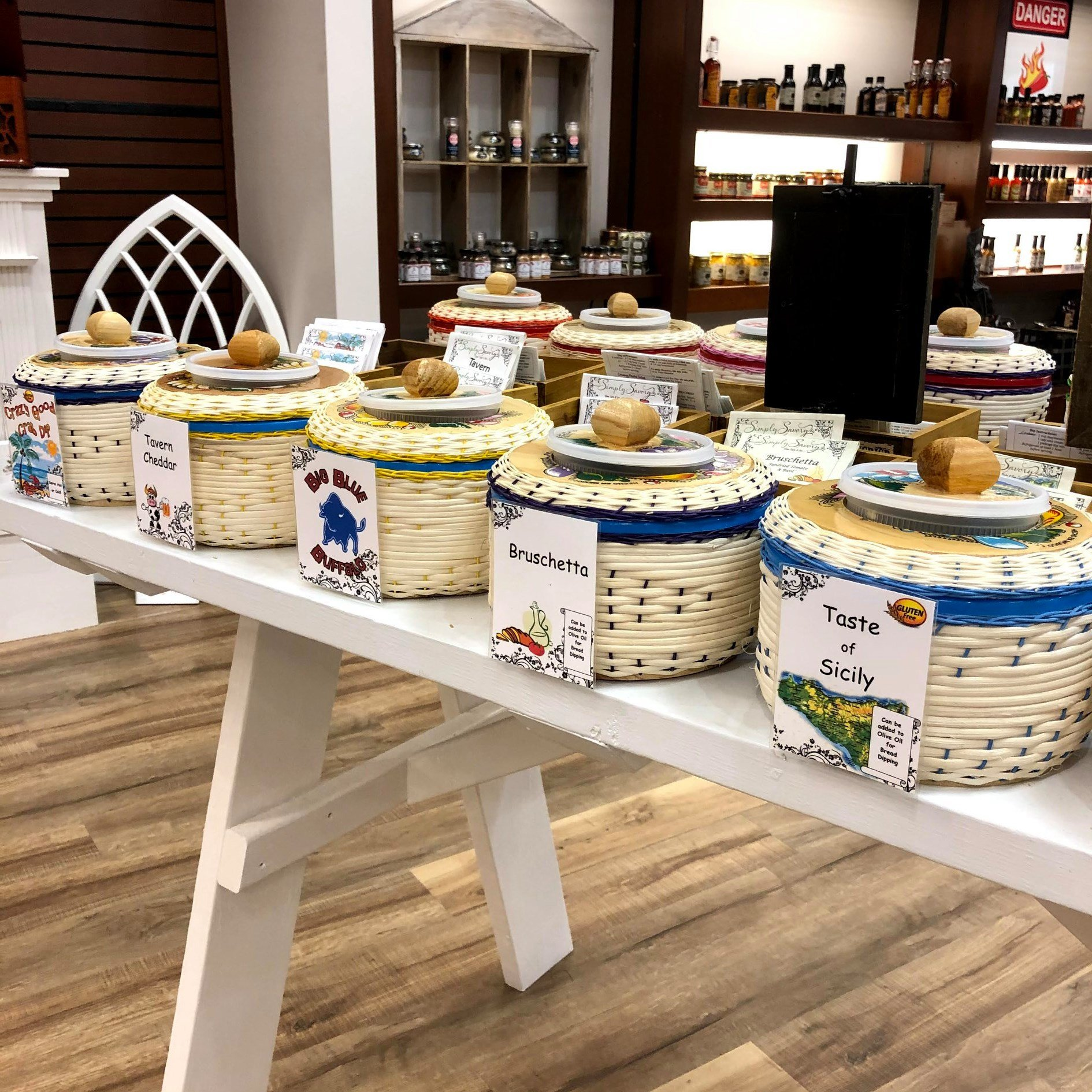 Simply Savory Dips in Coming Home Store